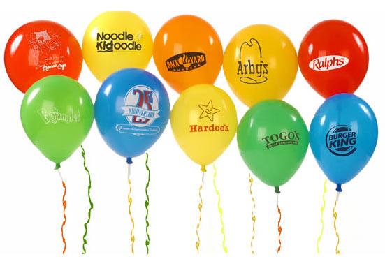 Идеи за брандиране от печати Модико - Брандиране на балони