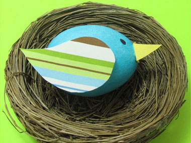 Идеи за великденски яйца - пролетни яйца от Модико бг