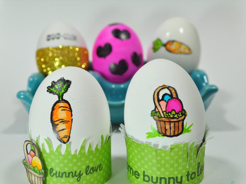 Идеи за великденски яйца - печати за великденски яйца от Модико бг