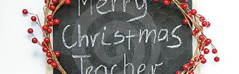 13 коледни подаръка за учители