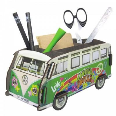 Организатор за бюро Автобус VW Hippie - Офис подаръци от Модико