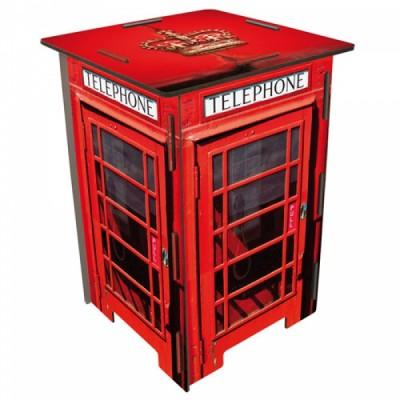 Стол с мотив LONDON - телефонна кабина